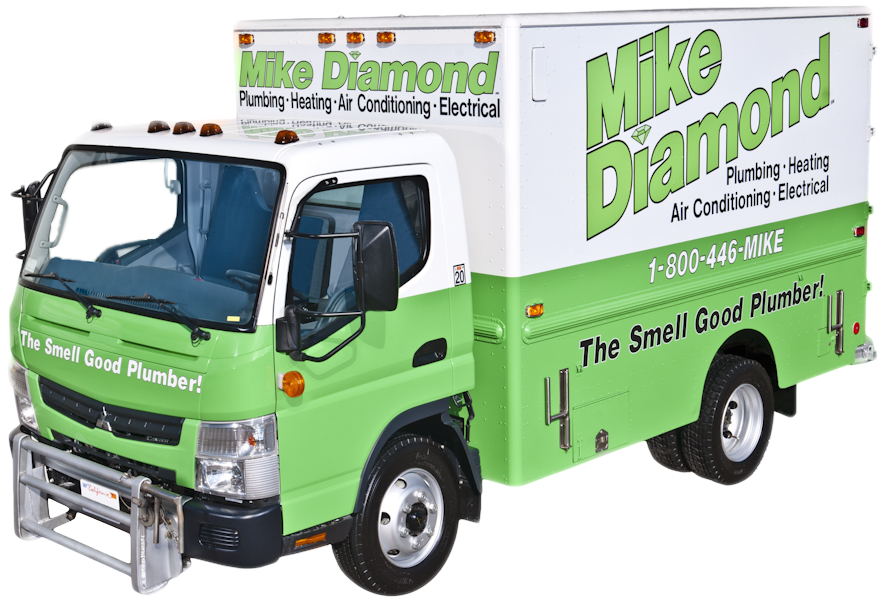 the smell good plumber truck