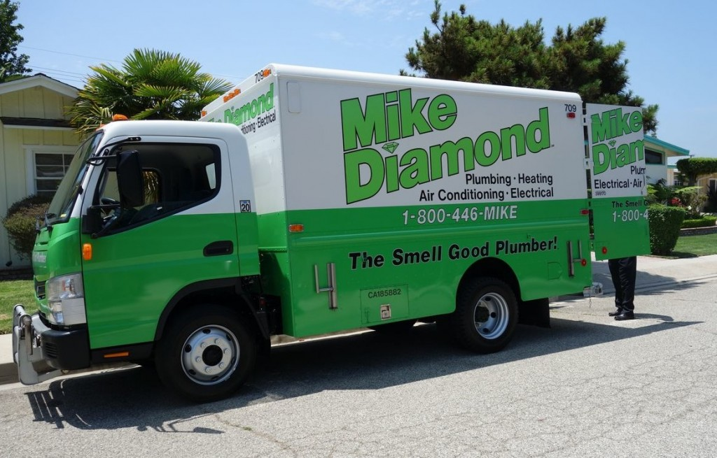 Mike Diamond Plumbing Services Truck near home5