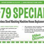 $79 Washing Machine Hose Replacement