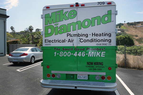 pomona plumber truck