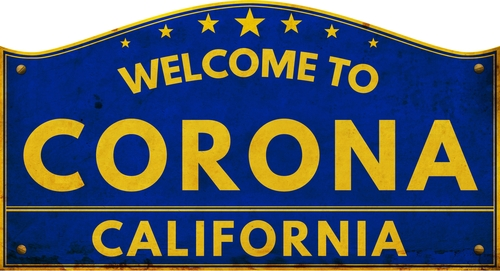 Image result for corona, CA
