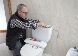 Check your toilet tank to ensure your is running smoothly.