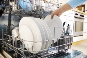 Check and clean dishwasher parts such as the sprayer arm, filter, and gasket.
