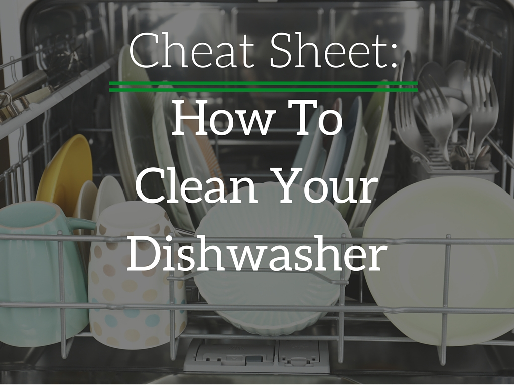 how to clean dishwasher youtube