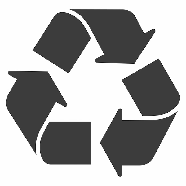 Recycle Icon Gray Mike Diamond Services