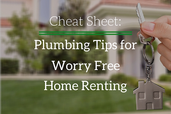 Cheat Sheet: Plumbing Tips for Worry Free Home Renting