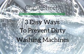 Prevent Dirty Washing Machines in 3 Easy Steps