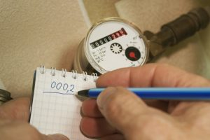 check home water meter