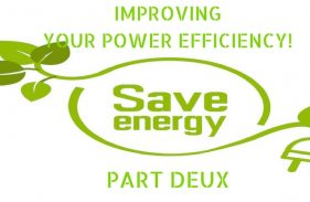 Improving Your Home's Power Efficiency, part 2