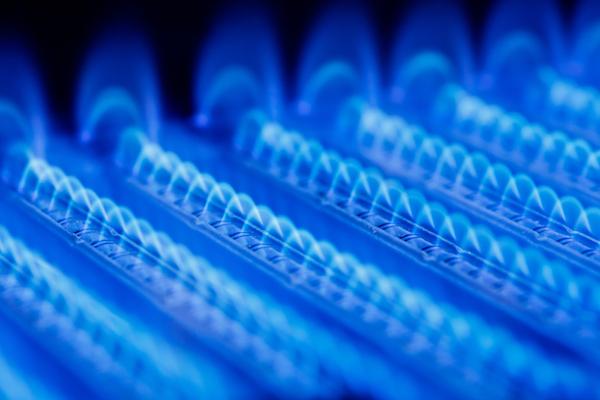 gas burning