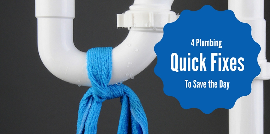 4 Plumbing Quick fixes that will save the day