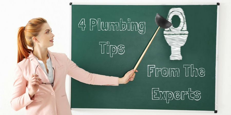 4 Plumbing Tips from the Experts