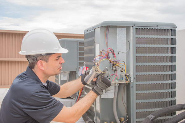 Plumbing technicians can help with AC repair