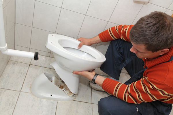 Get help having toilets and other fixtures installed while remodeling