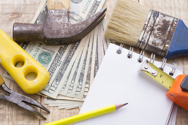 calculate your budget before you start remodeling