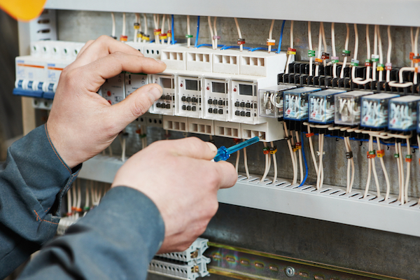 A plumbing technician can help with electrical repairs