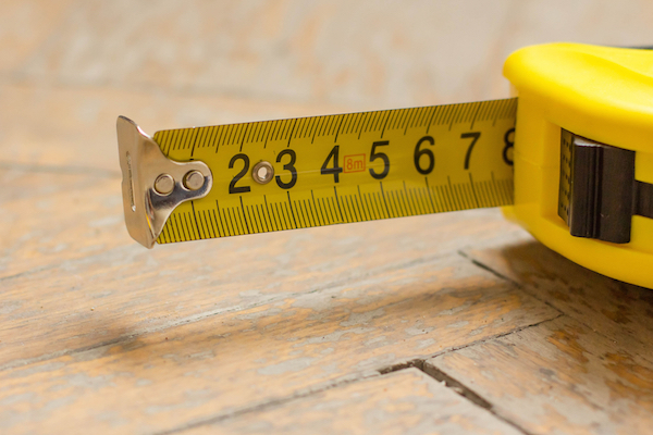Your plumber recommends you measure, measure, measure