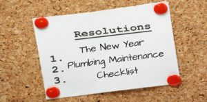 2018 New Year Plumbing Checklist