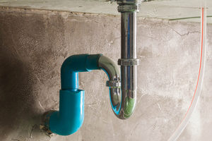 objects stuck in a sink drains p-trap may clog the sink drain