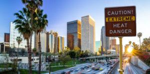 Explaining the Los Angeles heat wave