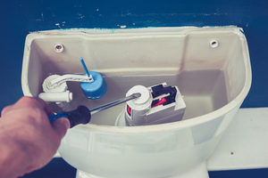 when a toilet wont flush