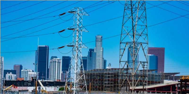 How does LA's electricity get to you?