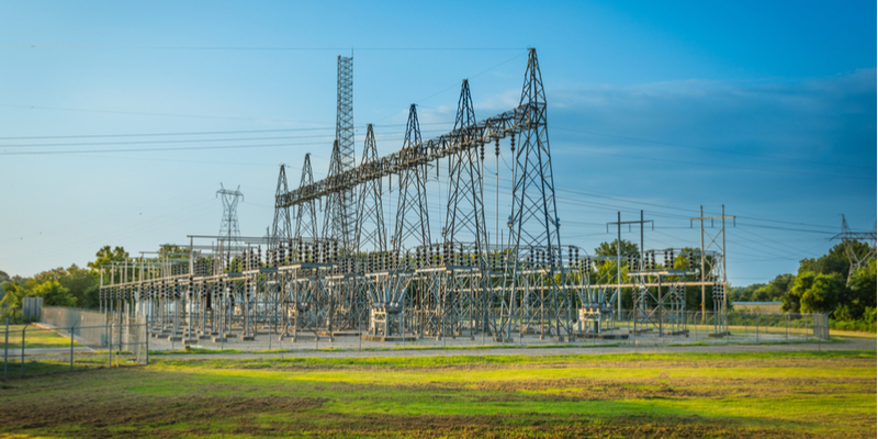 electrical distribution substation