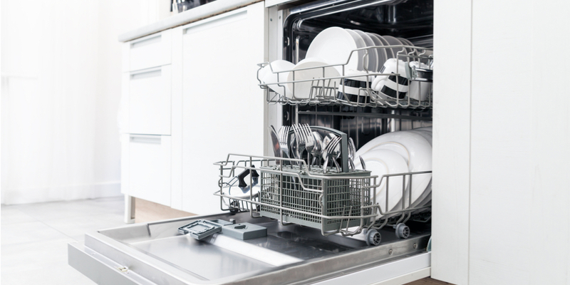 common causes of dishwasher clogs