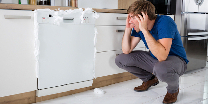 What To Do After Putting Dish Soap In Your Dishwasher Mike Diamond