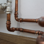 Copper pipes in a bathroom. How can I make my pipes last longer?